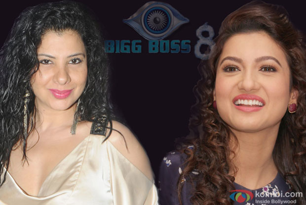 Sambhavna Seth and Gauhar Khan