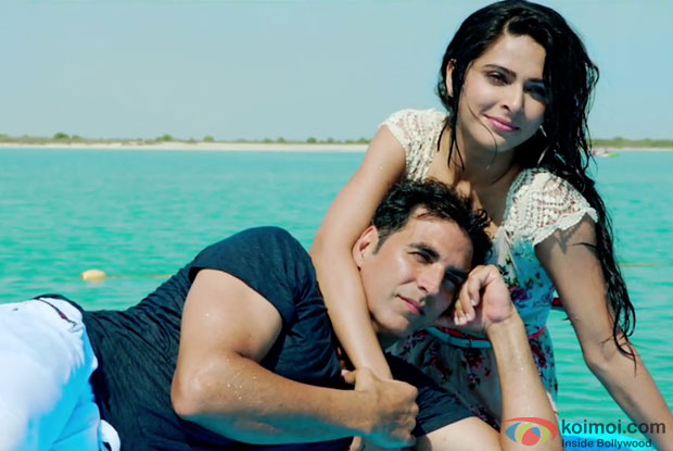 Akshay Kumar and Tapsee Pannu in a still from movie 'Baby'