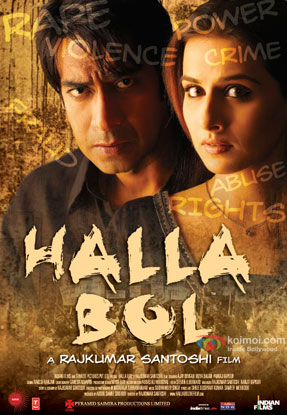 Halla Bol (2008) Movie Poster