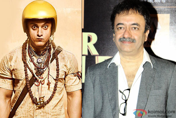 Aamir Khan in a 'PK' and Rajkumar Hirani