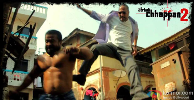 Nana Patekar in a still from movie 'Ab Tak Chhappan 2'