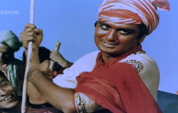 Sunil Dutt in a still from movie 'Mother India (1957)'