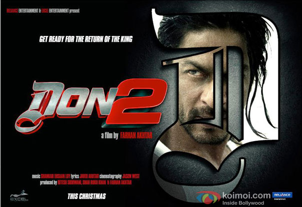 Don 2 (2012) Movie Poster