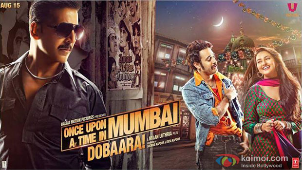 Once Upon ay Time in Mumbai Dobaara! (2013) Movie Poster