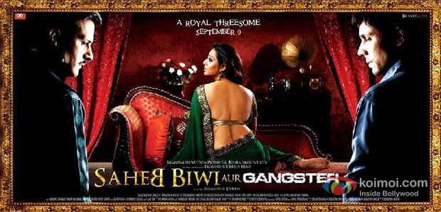 Saheb Biwi Aur Gangster (2011) Movie Poster
