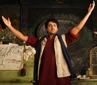 Ayushmann Khurrana in a 'Hawaizaada Dil' song still from movie 'Hawaizaada'
