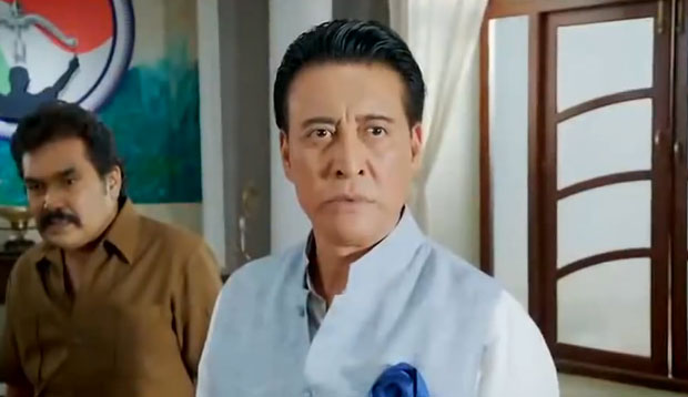 Danny Denzongpa in a still from movie 'Jai Ho (2014)'