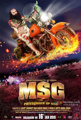 MSG: The Messenger Movie Poster