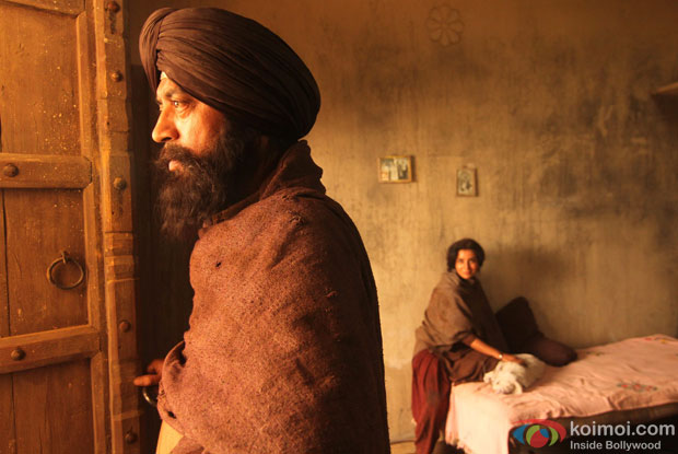 Irrfan Khan and Tisca Chopra in a still from movie 'Qissa'