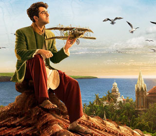 Ayushmann Khurrana in a 'Udd Jayega' song still from movie 'Hawaizaada'