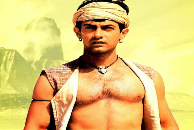 Aamir Khan in a still from movie 'Lagaan (2001)'