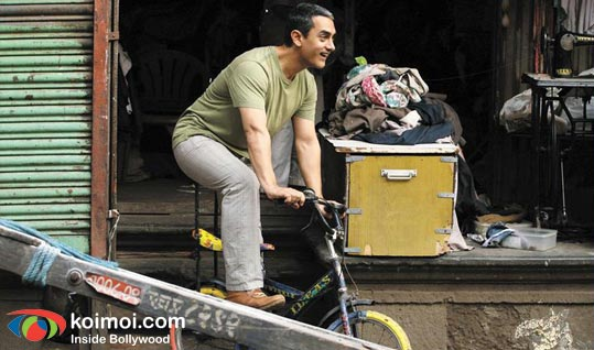 Aamir Khan in a still from movie 'Dhobi Ghat (2010)'
