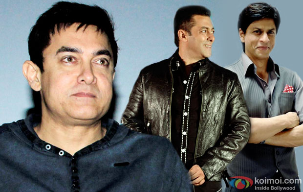 Aamir Khan Open To Working With Shah Rukh Khan & Salman Khan In One Film