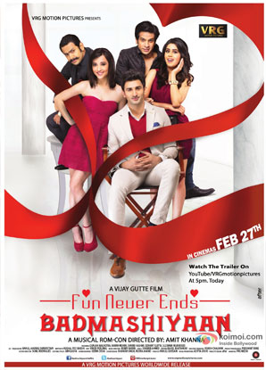 Badmashiyaan – Fun Never Ends Movie Poster