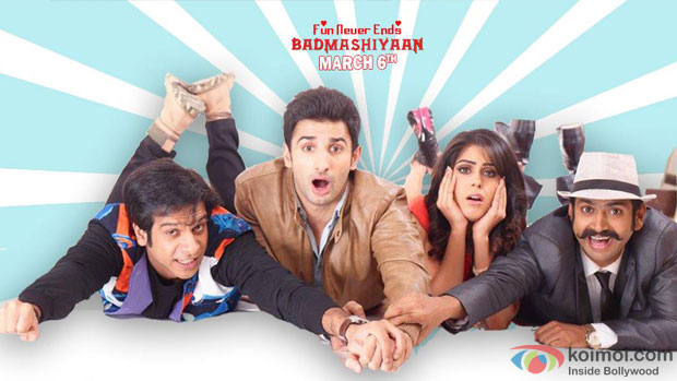 still from movie 'Badmashiyaan – Fun Never Ends'