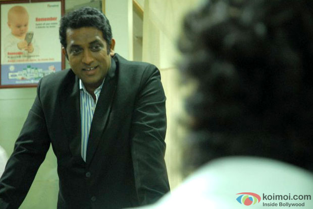 Anurag Basu in a still from movie 'I Am (2010)'
