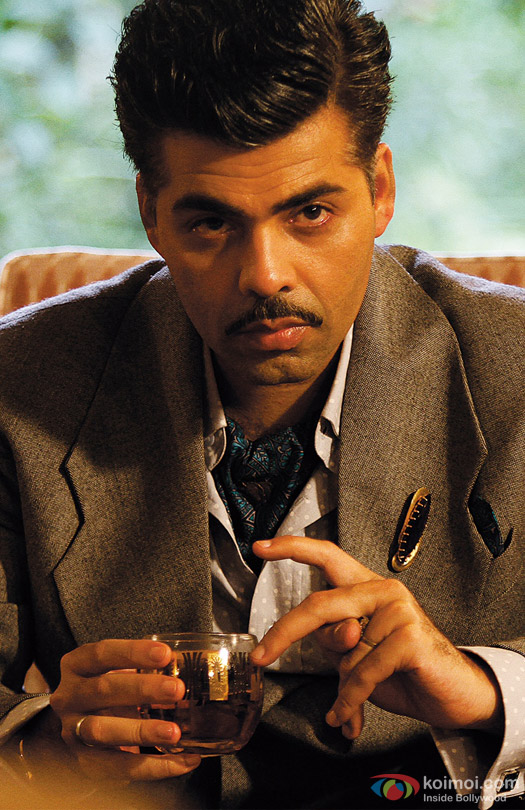 Karan Johar in a still from movie 'Bombay Velvet (2015)'