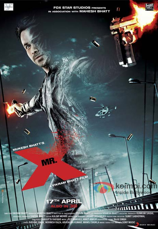 Emraan Hashmi's Half-Invisible Avatar On Brand New Poster Of Mr. X