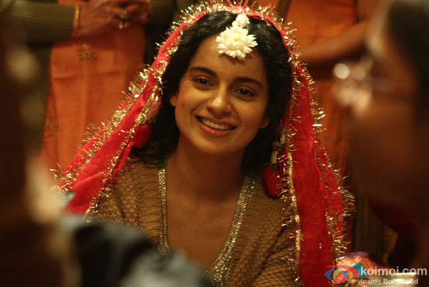 Kangana Ranaut in a still from movie 'Queen (2014)'