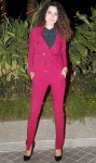 Kangana Ranaut in a red Gucci suit
