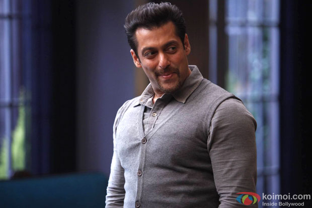 Salman Khan in a still from movie 'Kick (2014)'