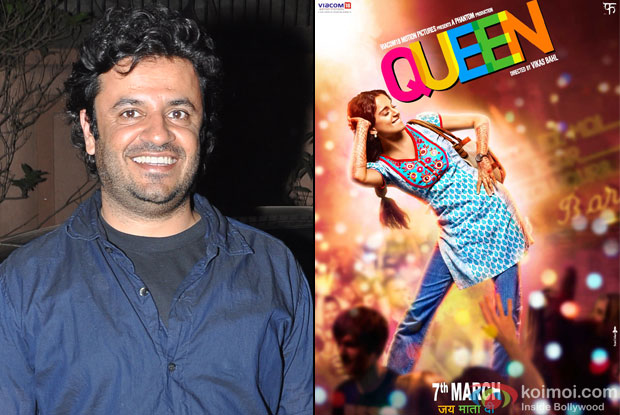 Vikas Bahl and 'Queen (2014)' Movie Poster