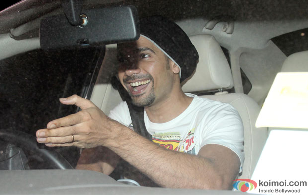 Neil Bhoopalam during the special screening of NH10 at Yash Raj Studios