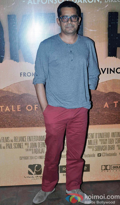 Subhash Kapoor during the special screening of hollywood film Broken Horses