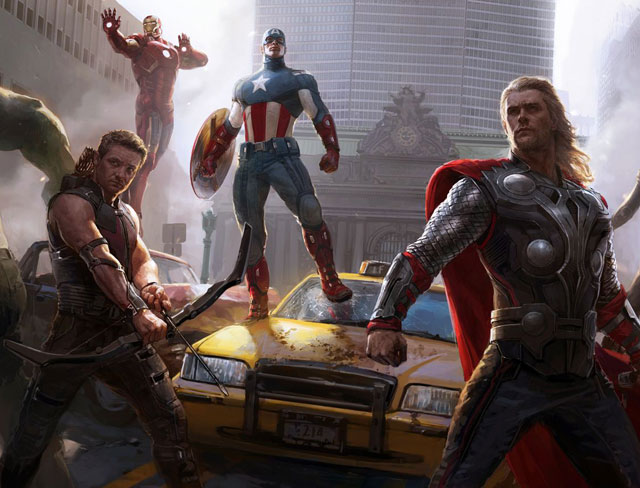 still from movie 'Avengers: Age of Ultron'
