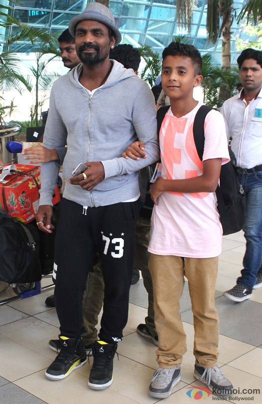 Remo D'Souza Snapped At Domestic Airport