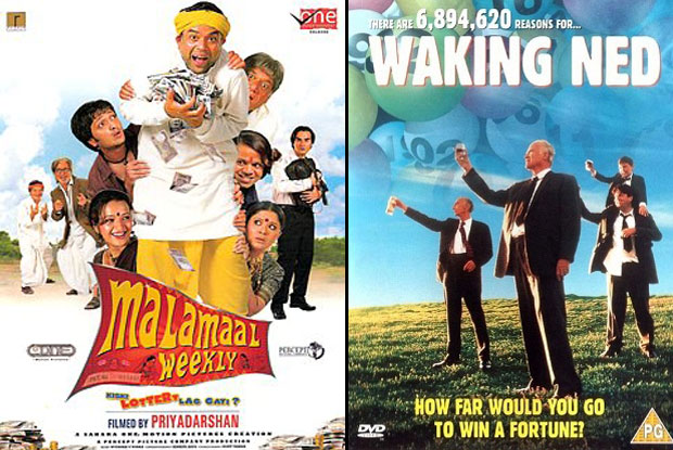 Malamaal Weekly (2006) and Waking Ned (1998) Movie Poster