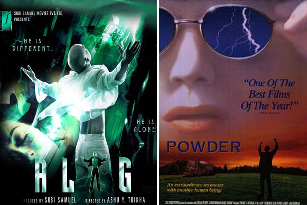 Alag (2006) and Powder (1995) Movie Poster