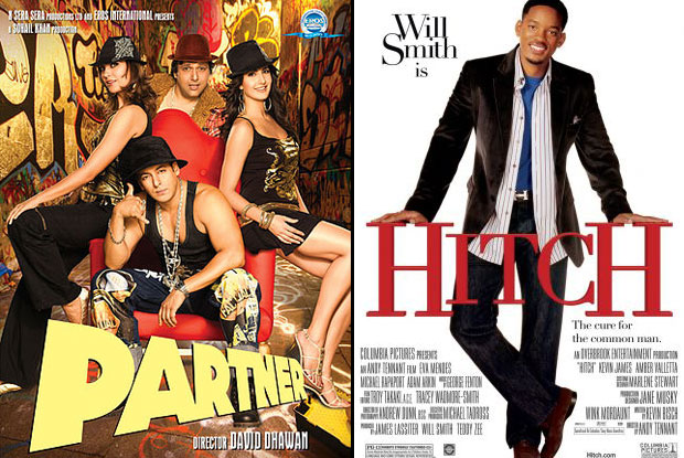 Partner (2007) and Hitch (2005) Movie Poster