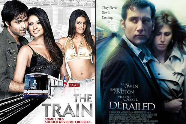 The Train (2007) and Derailed (2005) Movie Poster