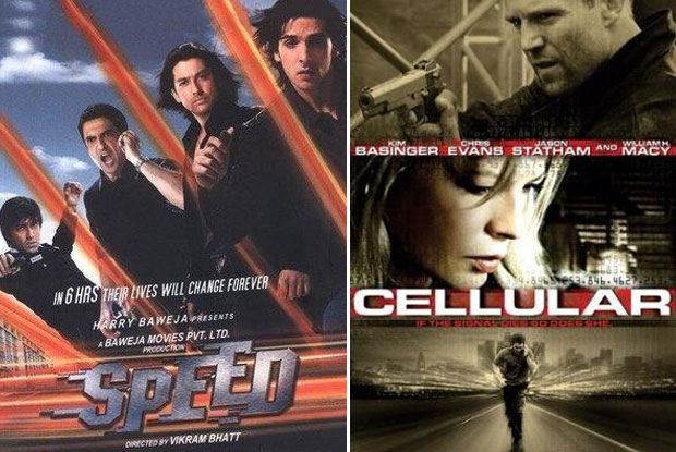 Speed (2007) and Cellular (2004) Movie Poster