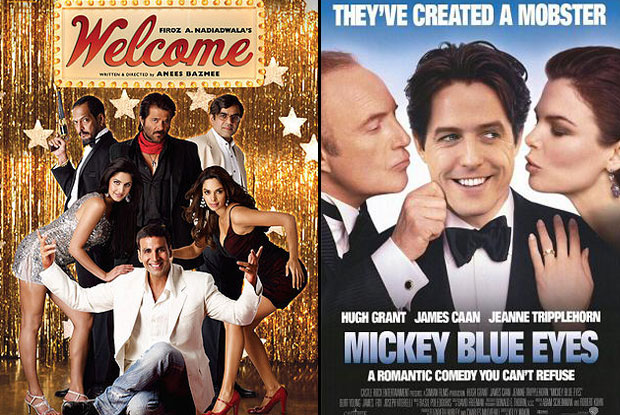 Welcome (2007) and Mickey Blue Eyes (1999) Movie Poster