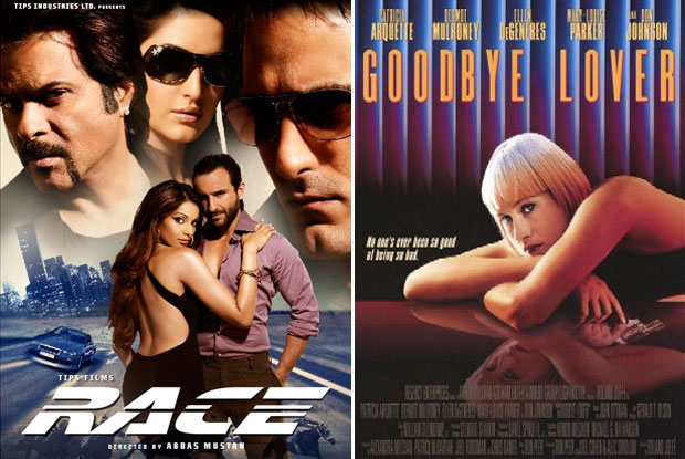 Race (2008) and Goodbye Lover (1998) Movie Poster