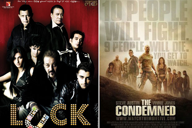 Luck (2009) and The Condemned (2007) Movie Poster