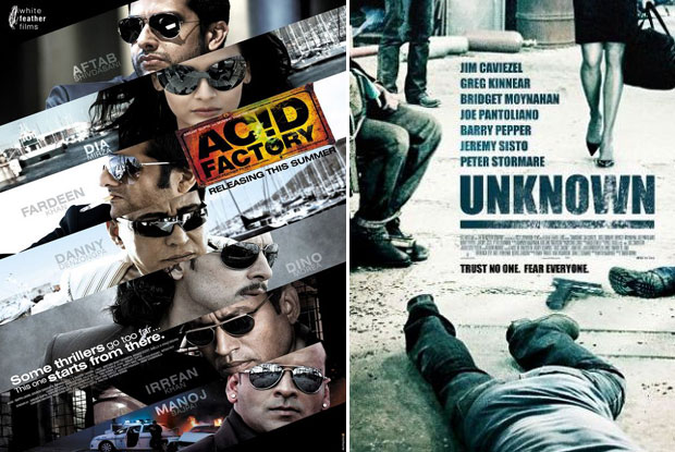 Acid Factory (2009) and Unknown (2006) Movie Poster
