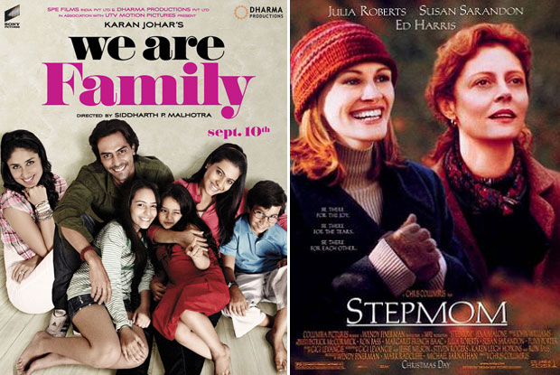 We Are Family (2010) and Stepmom (1998) Movie Poster