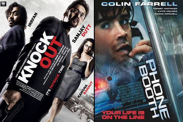 Knock Out (2010) and Phone Booth (2002) Movie Poster