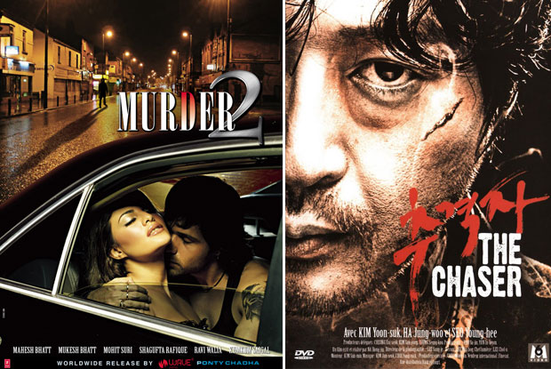 Murder 2 (2011) and The Chaser (2008) Movie Poster