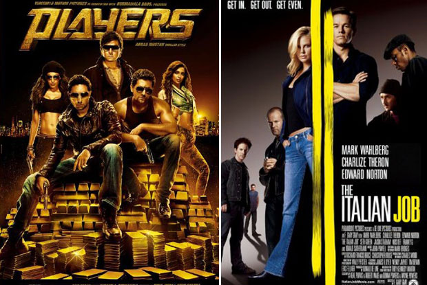 Players (2012) and The Italian Job (2003) Movie Poster