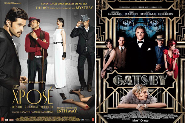 The Xposé (2014) and The Great Gatsby (2013) Movie Poster