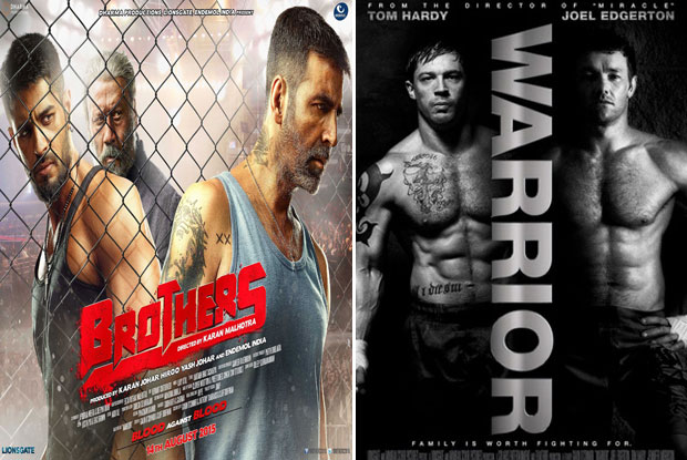 Brothers (2015) and Warrior (2011) Movie Poster