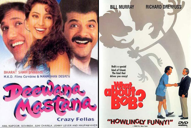 Deewana Mastana (1997) and What About Bob? (1991) Movie Poster