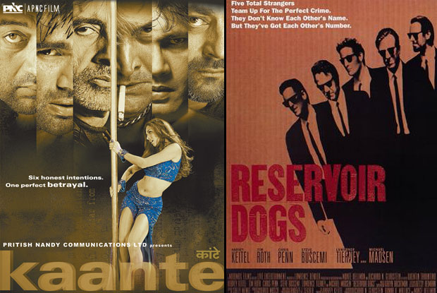 Kaante (2002) and Reservoir Dogs (1992) Movie Poster