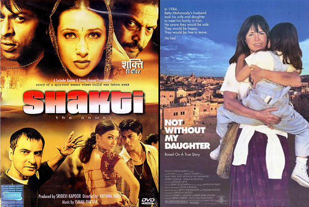 Shakti: The Power (2002) and Not Without My Daughter (1991) Movie Poster