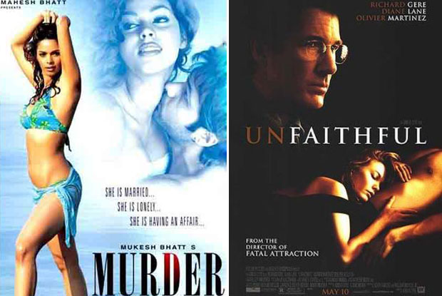 Murder (2004) and Unfaithful (2002) Movie Poster