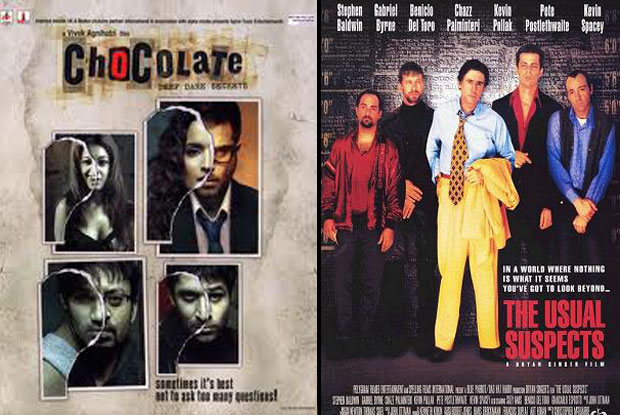 Chocolate (2005) and The Usual Suspects (1995) Movie Poster